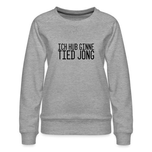 Ginne tied - Vrouwen premium sweater