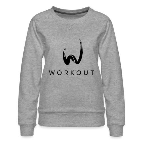 Workout mit Url - Frauen Premium Pullover