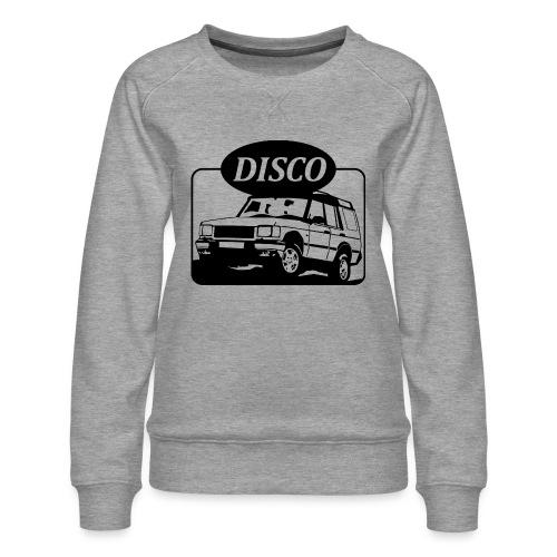 landroverdisco01dblack - Premium-genser for kvinner