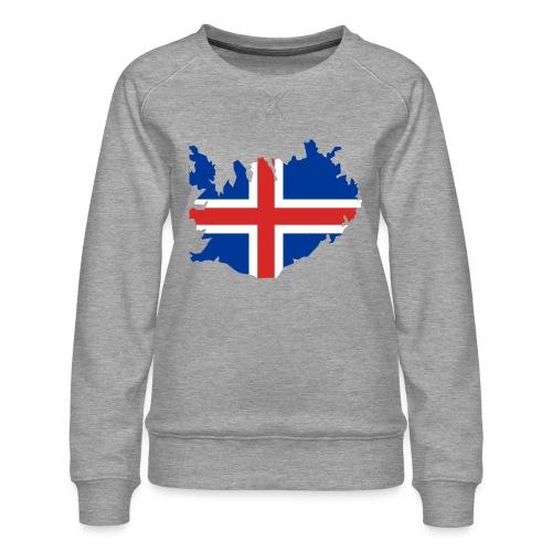 Iceland - Vrouwen premium sweater