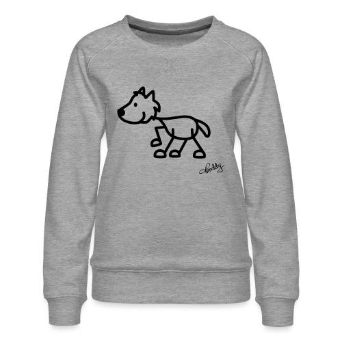 wolf - Frauen Premium Pullover