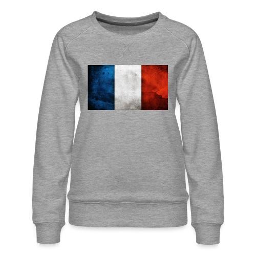 France Flag - Women's Premium Sweatshirt