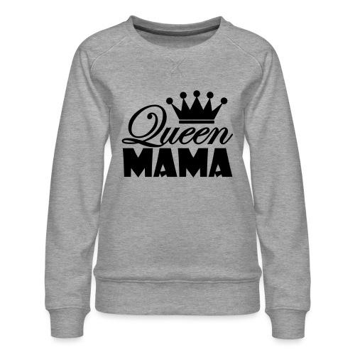 queenmama - Frauen Premium Pullover