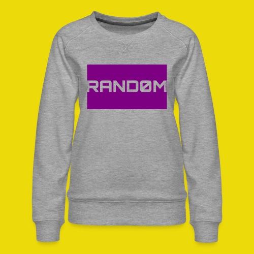 Random Logo - Women's Premium Sweatshirt