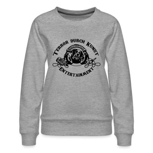 tdklogoschwarz 3 - Frauen Premium Pullover