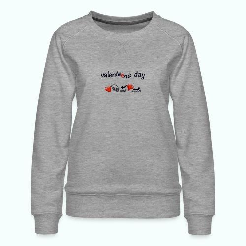 valenteens day - Frauen Premium Pullover