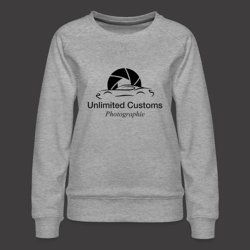 Logo schwarz4k - Frauen Premium Pullover