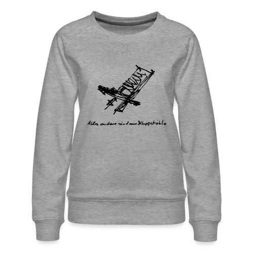 Schwedenstuhl - Frauen Premium Pullover