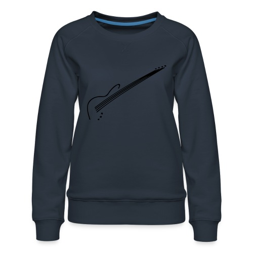 E-Bass - Frauen Premium Pullover