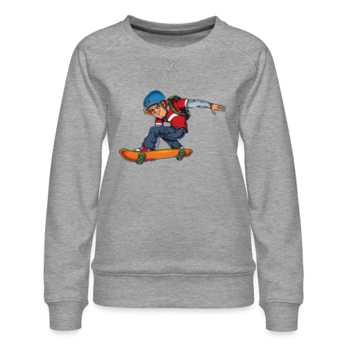 Skater - Women's Premium Sweatshirt