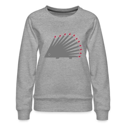 Hedgehog - Women's Premium Sweatshirt