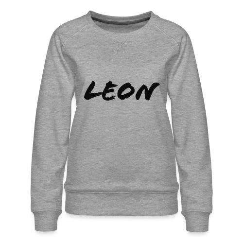Leon - Sweat ras-du-cou Premium Femme