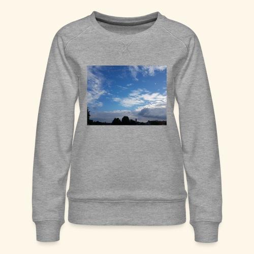 himmlisches Wolkenbild - Frauen Premium Pullover