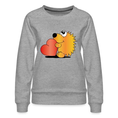 Igelchen - Frauen Premium Pullover