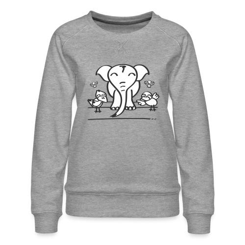 78 elephant - Frauen Premium Pullover