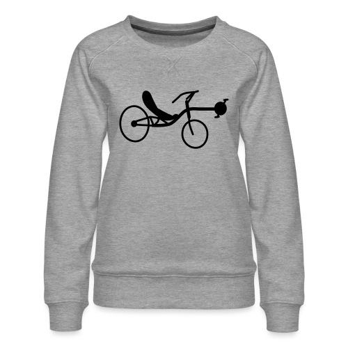 Liegerad Streetmachine 2 - Frauen Premium Pullover