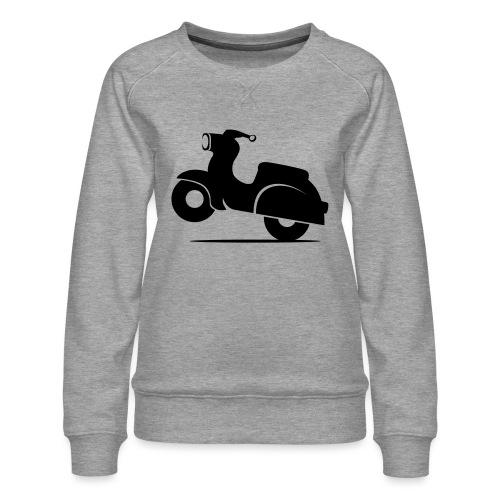 Schwalbe knautschig - Frauen Premium Pullover