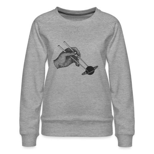 The Sticks [BLACK] - Women's Premium Sweatshirt