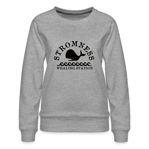 Sromness Whaling Station - Women's Premium Sweatshirt