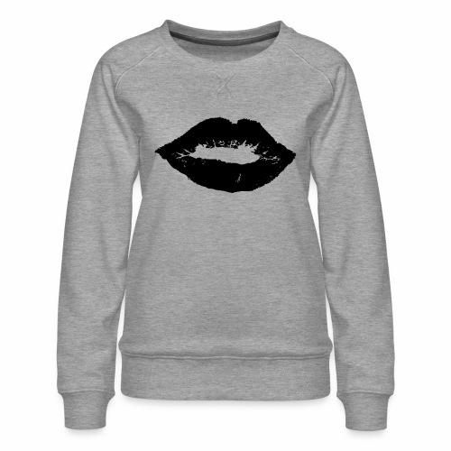 Kussmund - Frauen Premium Pullover