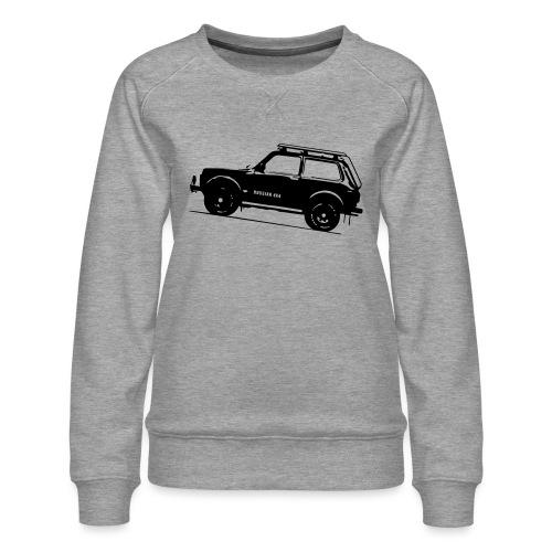Lada Niva 2121 Russin 4x4 - Frauen Premium Pullover