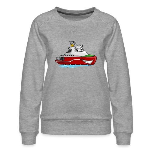 Boaty McBoatface - Women's Premium Sweatshirt