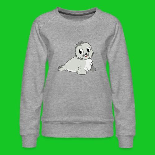 Zeehondje - Vrouwen premium sweater