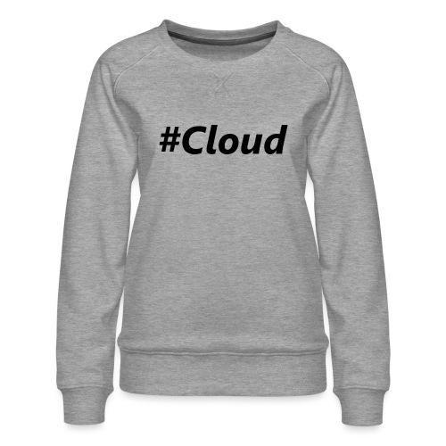 #Cloud black - Frauen Premium Pullover