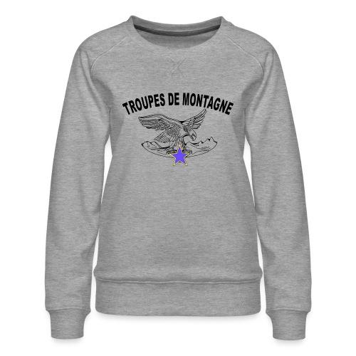 choucasTDM dos - Sweat ras-du-cou Premium Femme