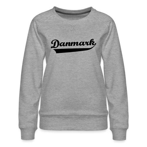 Danmark Swish - Dame premium sweatshirt