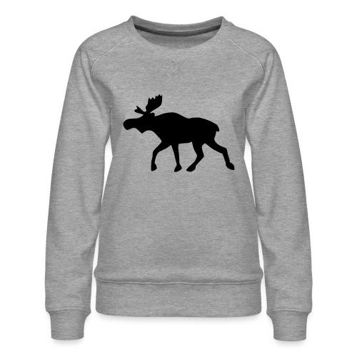 Elch - Frauen Premium Pullover