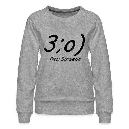 Elch Smiley - Frauen Premium Pullover