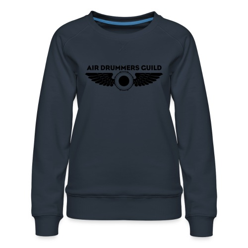 ADG Drum'n'Wings Emblem - Women's Premium Sweatshirt