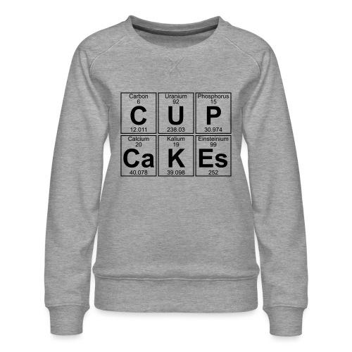 C-U-P-Ca-K-Es (cupcakes) - Full - Women's Premium Sweatshirt