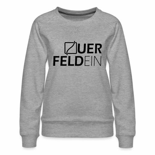Querfeldein Logo - Frauen Premium Pullover