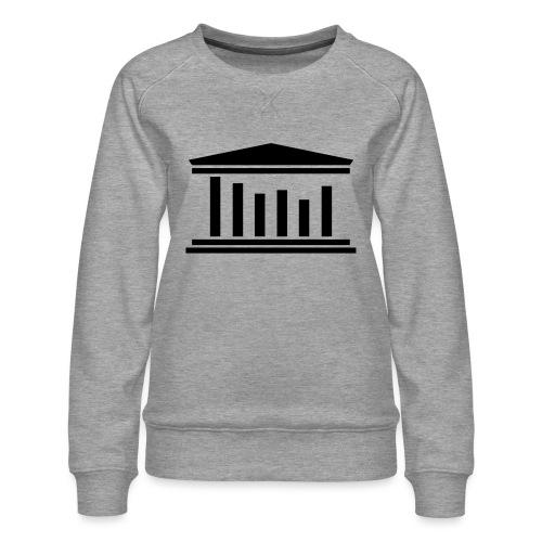 TST Logo Black - Women's Premium Sweatshirt