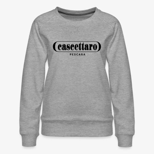 Cascettaro - Felpa premium da donna