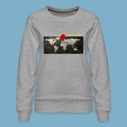 homeland my base - Frauen Premium Pullover