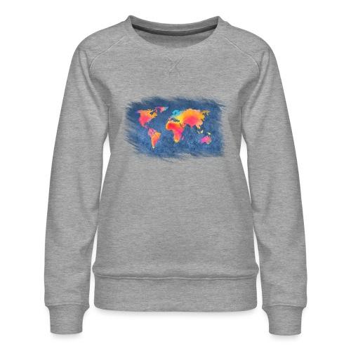 World - Frauen Premium Pullover