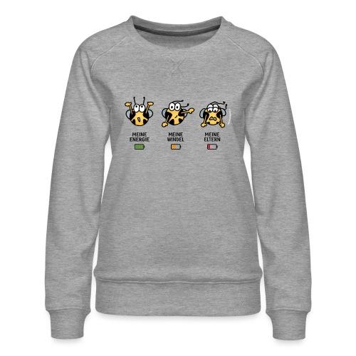 Babyindikator - Frauen Premium Pullover