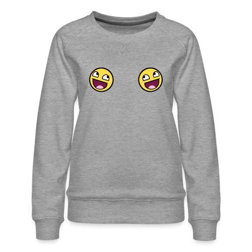 Design lolface knickers 300 fixed gif - Women's Premium Sweatshirt