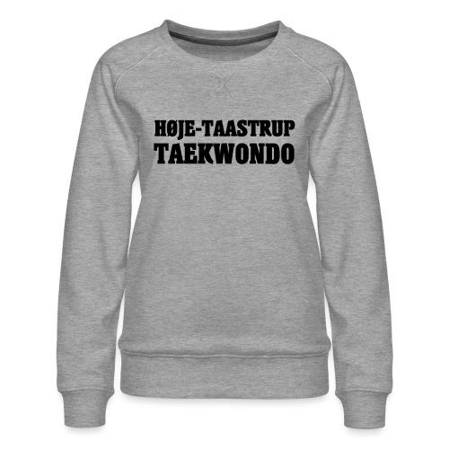 Høje-Taastrup Front Tryk - Dame premium sweatshirt