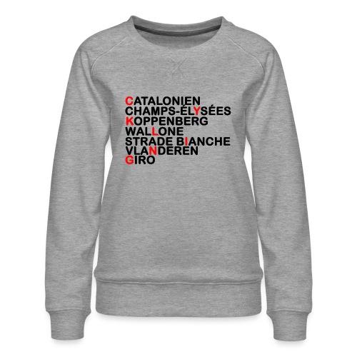 CYKLING - Dame premium sweatshirt