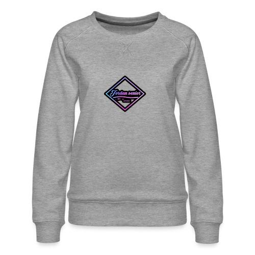 jordan sennior logo - Women's Premium Sweatshirt
