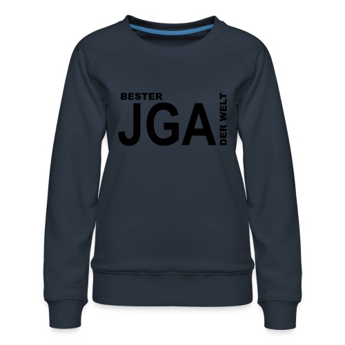 Bester JGA der Welt - Frauen Premium Pullover