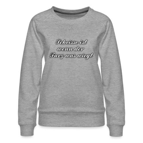 Furz - Frauen Premium Pullover