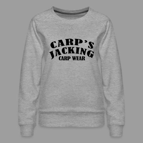 Carp's griffe CARP'S JACKING - Sweat ras-du-cou Premium Femme