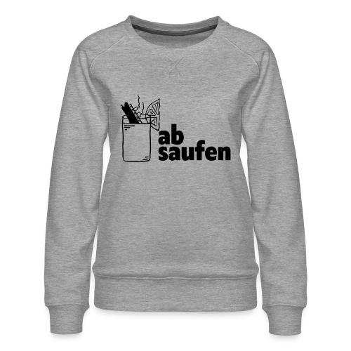 absaufen - Frauen Premium Pullover