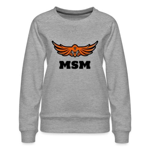 MSM EAGLE - Dame premium sweatshirt