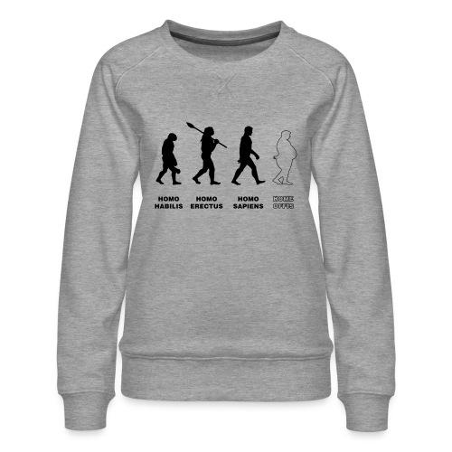 evolution corona 01 - Frauen Premium Pullover
